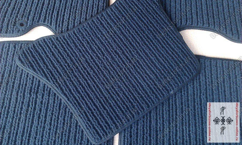 Изготовление ковриков для автомобиля