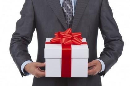 Как дарить бизнес подарок