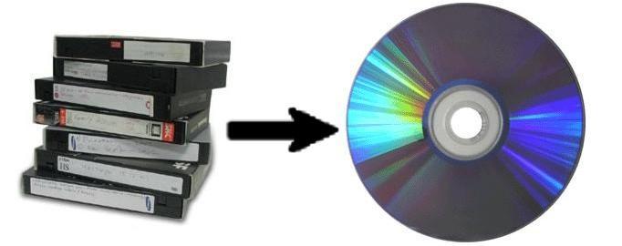Процесс переноса информации с видеокассеты на сд носитель происходит в несколько этапов