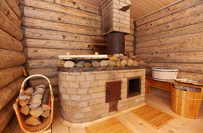 Примерно так выглядит русская баня