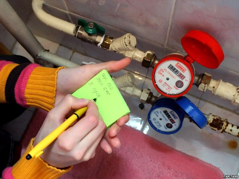 Дополнительная услуга - проверка правильности показаний водяных счетчиков
